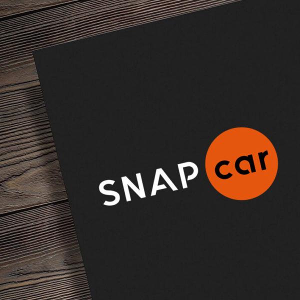 Logo zaprojektowane dla mobilnego serwisu klimatyzacji www.snapcar.pl