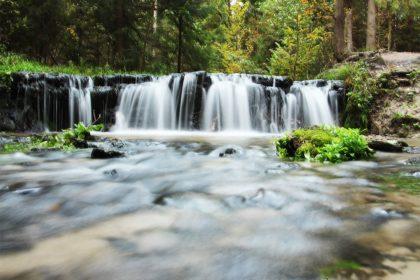 Wodospad na rz. Jeleń