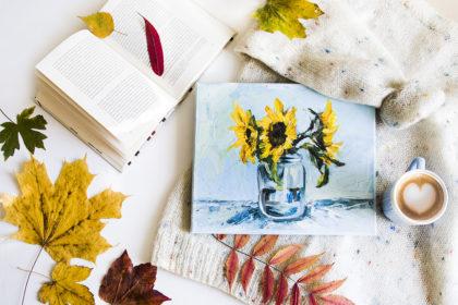 Malarstwo Słoneczniki