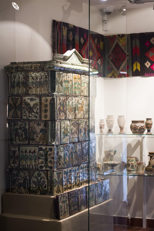 Muzeum Historyczne w Sanoku - ceramika Pokucka