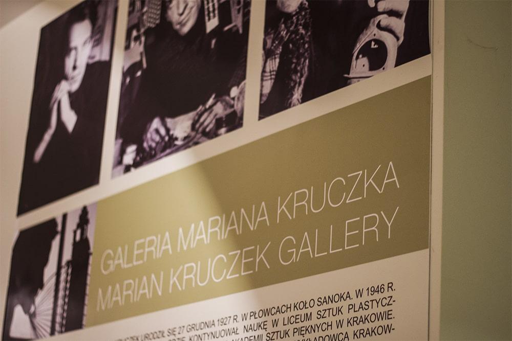 Sanok - Muzeum Historyczne - wystawa Mariana Kruczka
