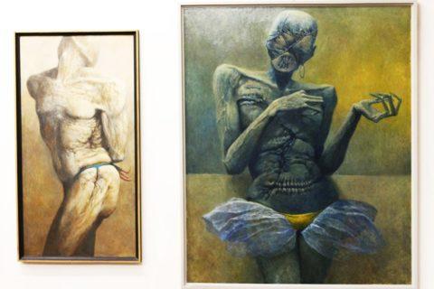 Wystawa prac Beksińskiego w Sanoku