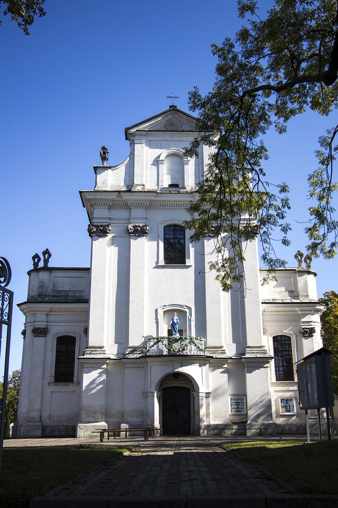 Tarnogród - kościół pw. Przemienienia Pańskiego