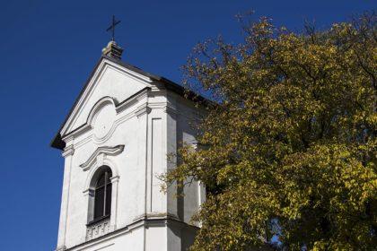 Tarnogród dzwonnica przy kościele pw. Przemienienia Pańskiego