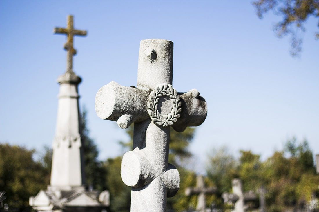 stary cmentarz w Tarnogrodzie
