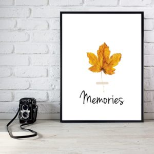 """Plakat """"Memories"""""""