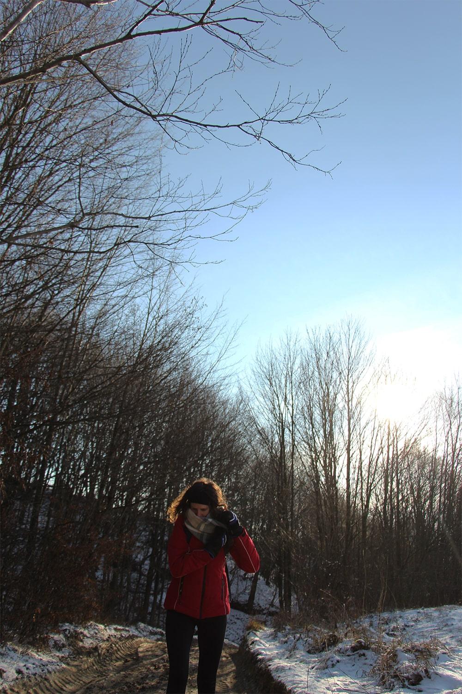 Cergowa zimą