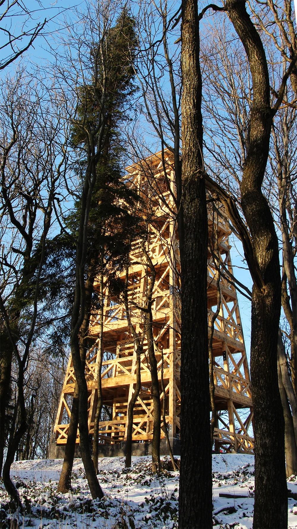 Cergowa wieża widokowa