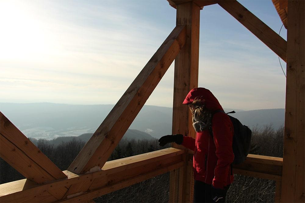 Cergowa - wieża widokowa