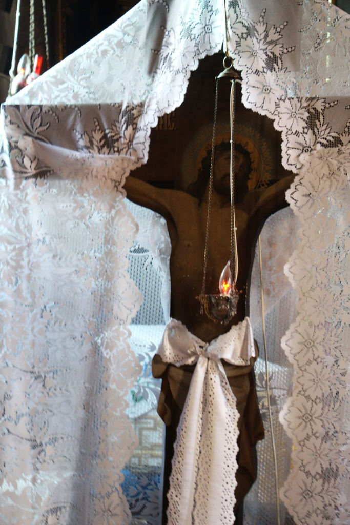 Kostomłoty - detale we wnętrzu cerkwi