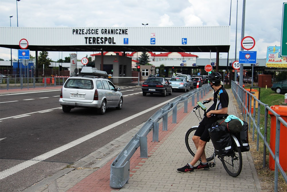 Terespol - przejście graniczne