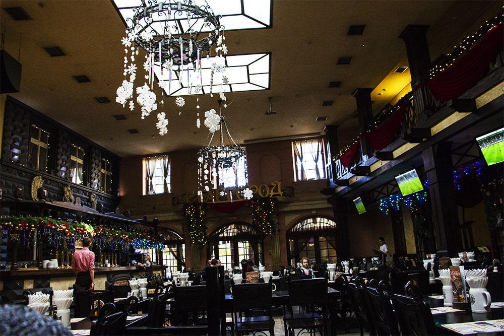 Wnętrze restauracji Stargorod we Lwowie