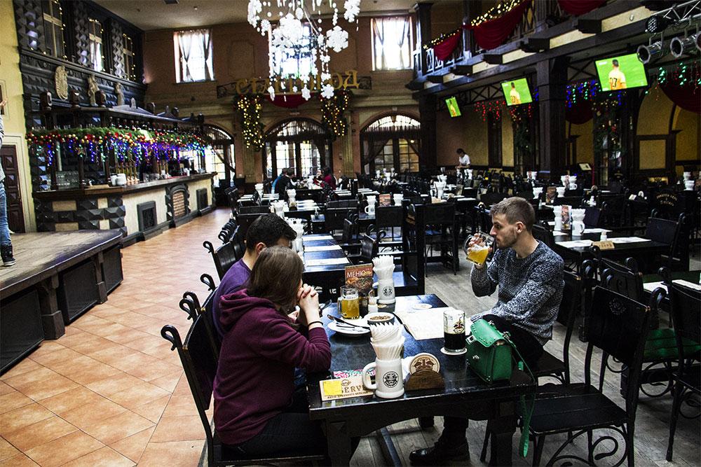 Restauracja STARGOROD we Lwowie