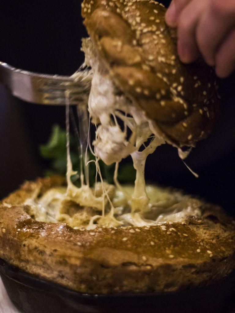 Restauracja Kumpel - żulien z trzech rodzajów grzybów