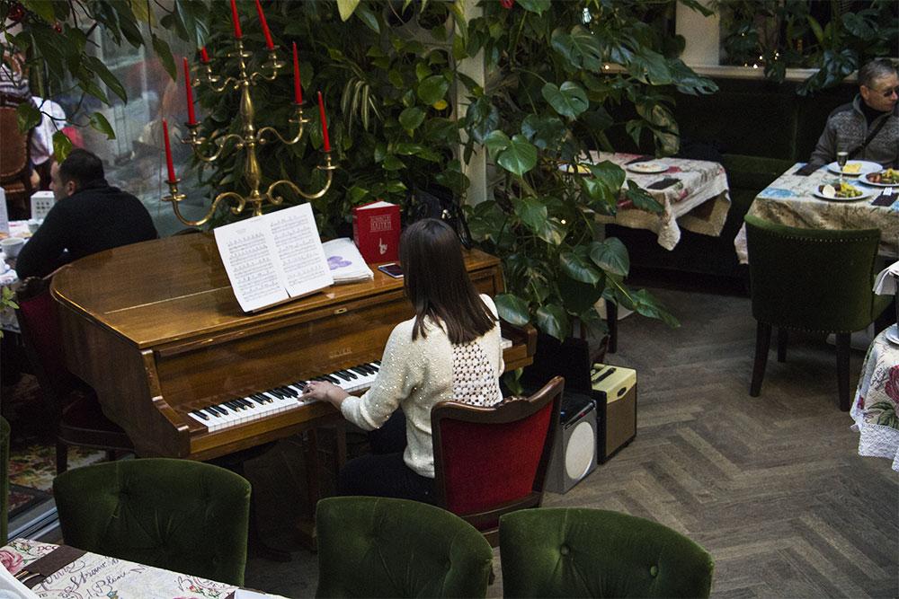 Muzyka na żywo - u Baczewskich we Lwowie