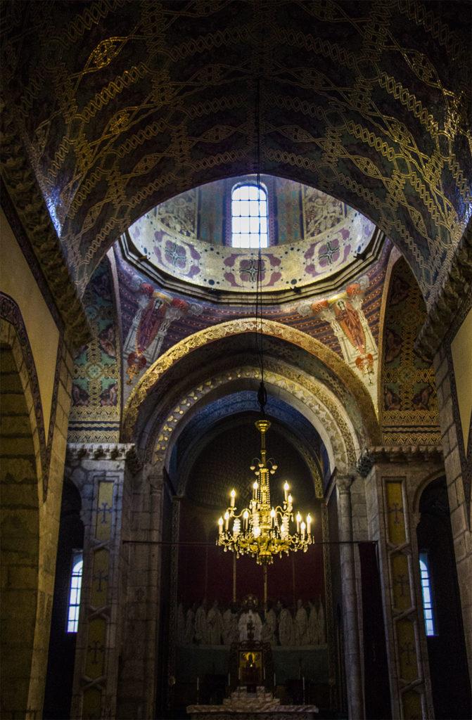 Wnętrze Katedry Ormiańskiej we Lwowie