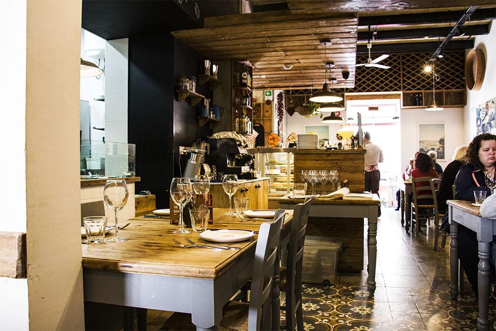Wnętrze restauracji Diar Il Bniet.