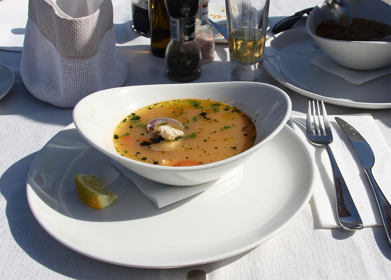 zupa rybna Marsaxlokk
