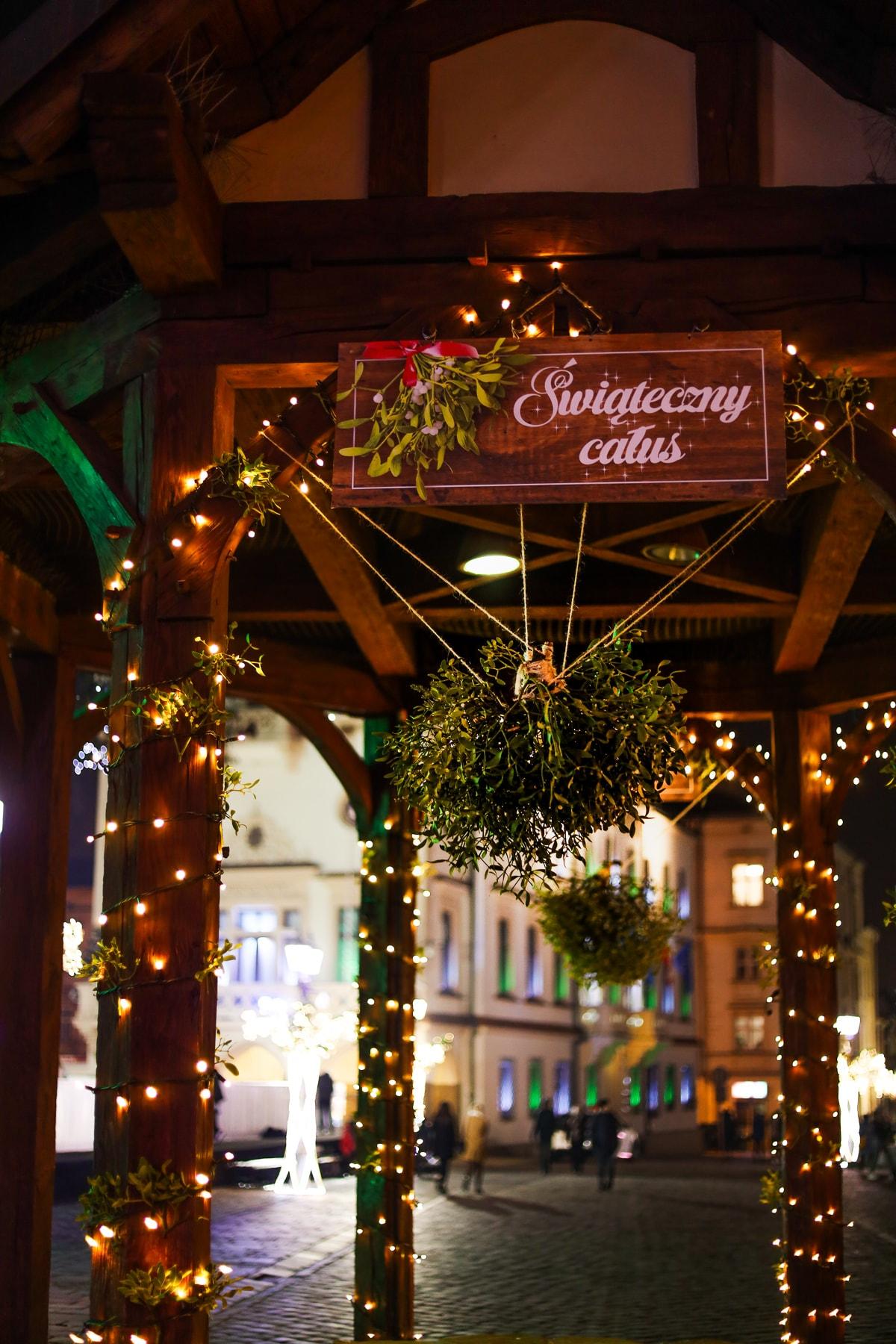 Świąteczna studnia w Rzeszowie