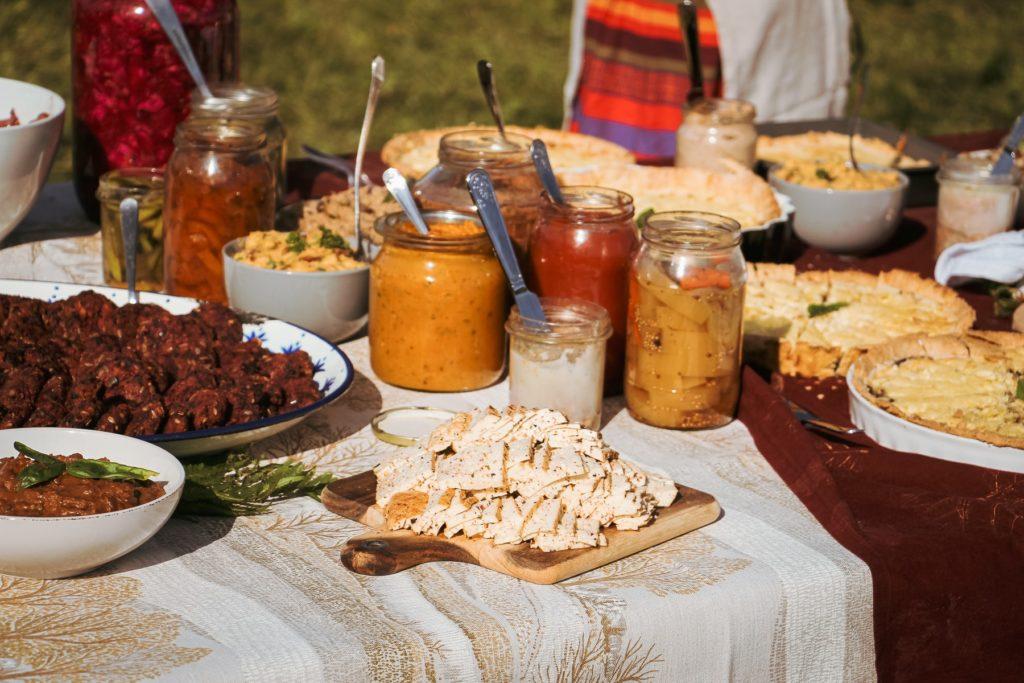 dzikie stoły jesień