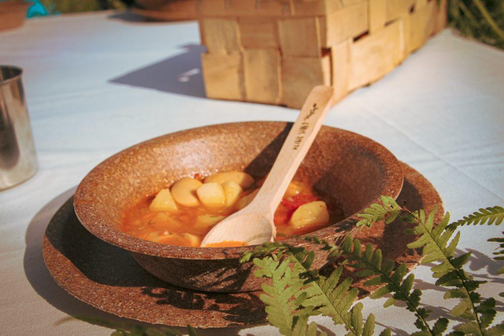 dzikie stoły zupa