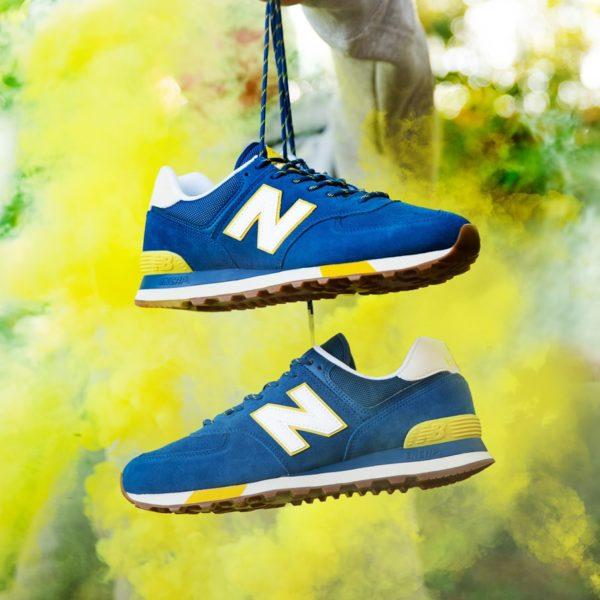 Sesja produktowa obuwia w plenerze dla marki New Balance Poland