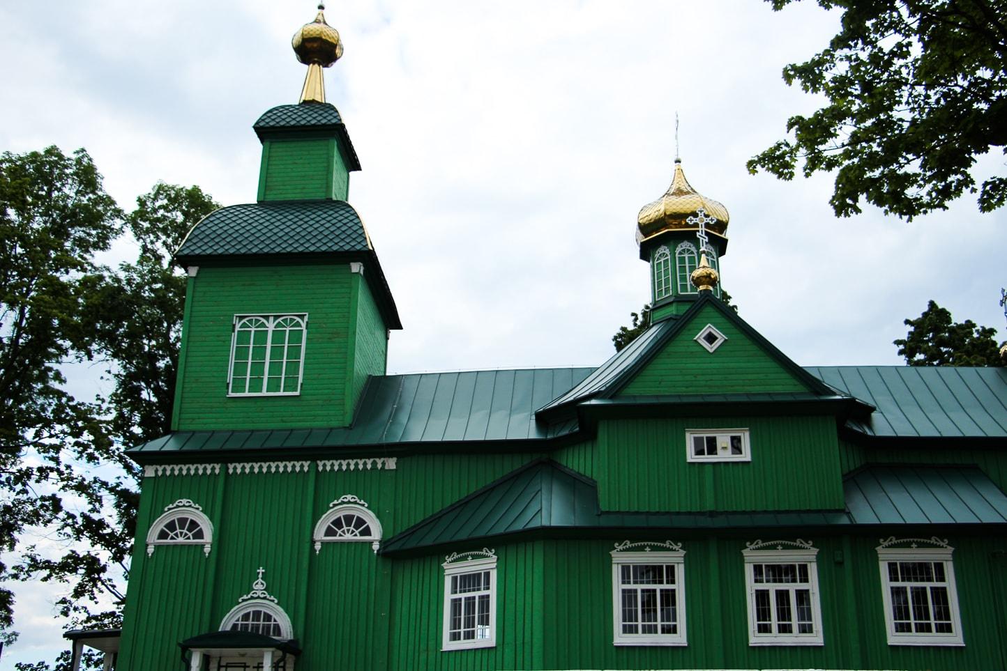 Cerkiew św. Michała Archanioła w Trzaściance.