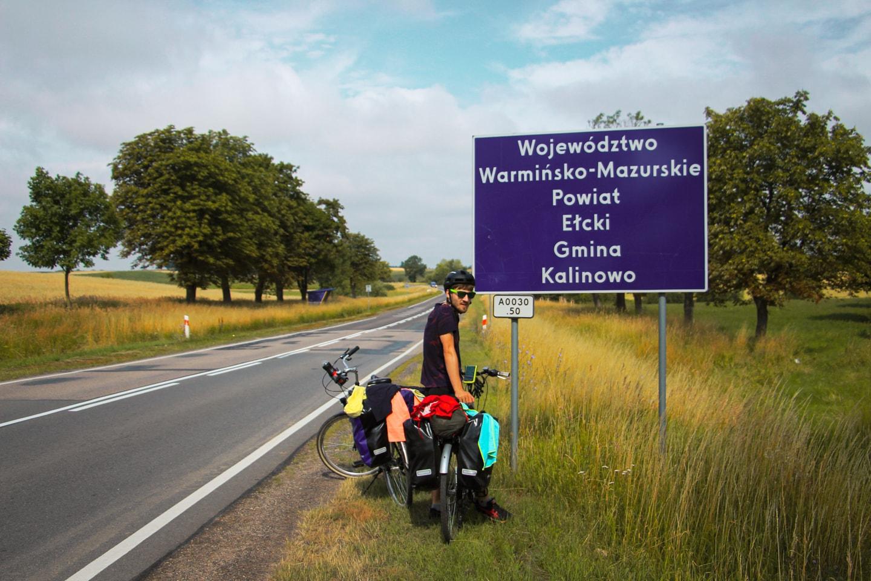 warmia i mazury na rowerze