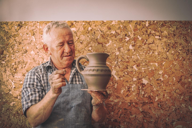 Pokaz ceramiczny z Panem Andrzejem Plizgą