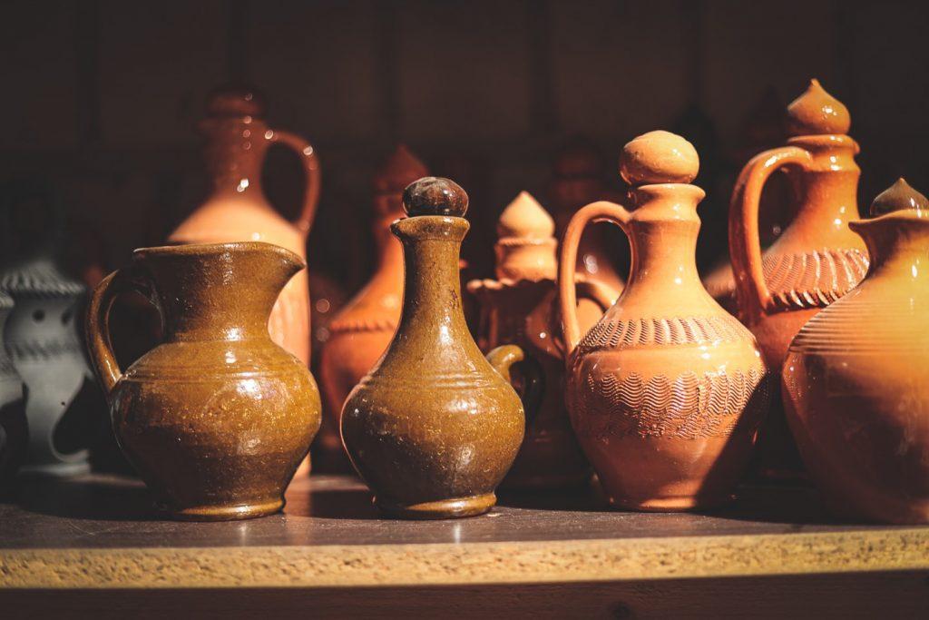 Ceramika w gospodarstwie rodziny Plizgów