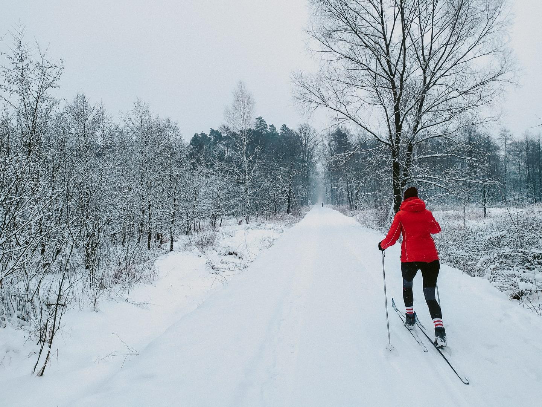czarna narty biegowe
